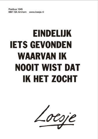 Bron: Loesje.nl
