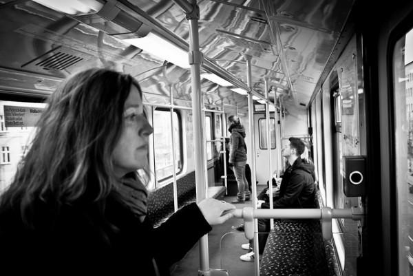 tram eenzaam