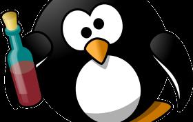 dronken pinguin