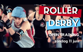 Roller Derby Arnhem Fresh Meat Day 11 juni