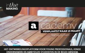 In The Making academy Arnhem 15 maart