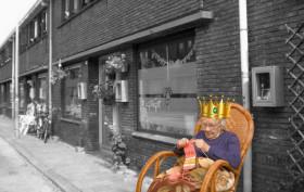 Stoep Koningin plaatje