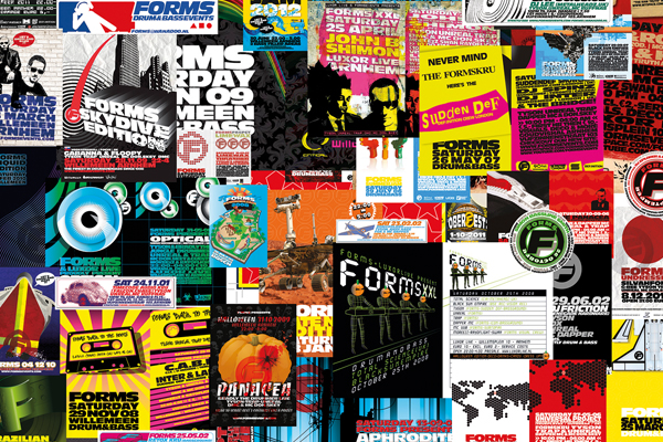 Forms Events Poster Collage