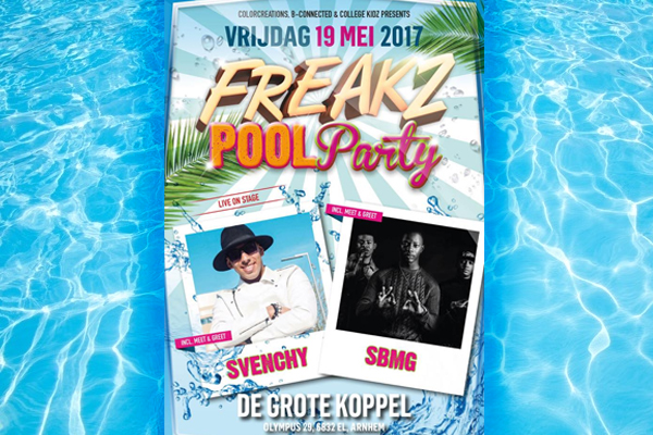 FREAKZ pool party SBMG1