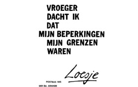 Loesje workshop Willemeen gratis