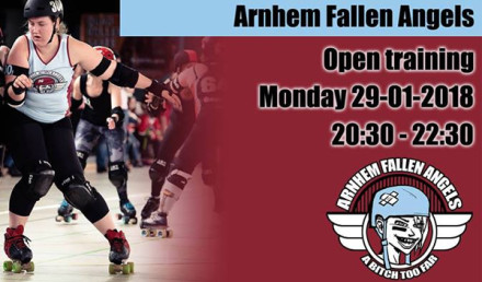 Arnhem Fallen Angels Open Training januari 2018