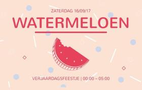 Watermeloen Verjaardagsfeestje Arnhem Luxor Live