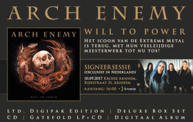 Arch Enemy Kroese Arnhem