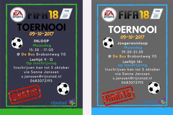 FIFA 18 toernooi Arnhem Bus