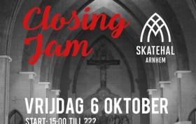Skatehal Arnhem Closing JAM