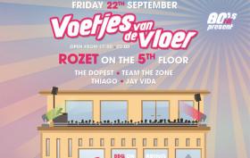 Voetjes van de Vloer Rooftop Party Arnhem Rozet