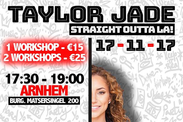 Workshop Taylor Jade MaxStudios Header