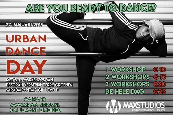 Urban Dance DAy MaxStudios 2018
