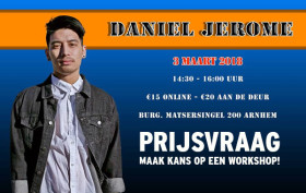 Daniel Jerome workshop MaxStudios header