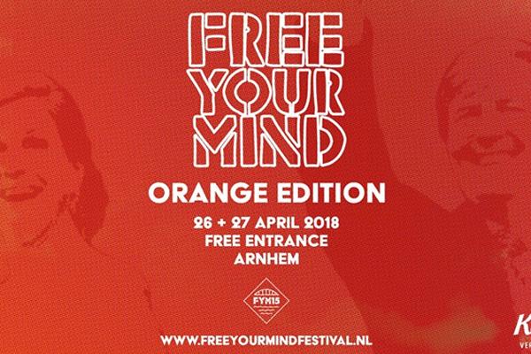 Koningsdag Arnhem Free Your Mind