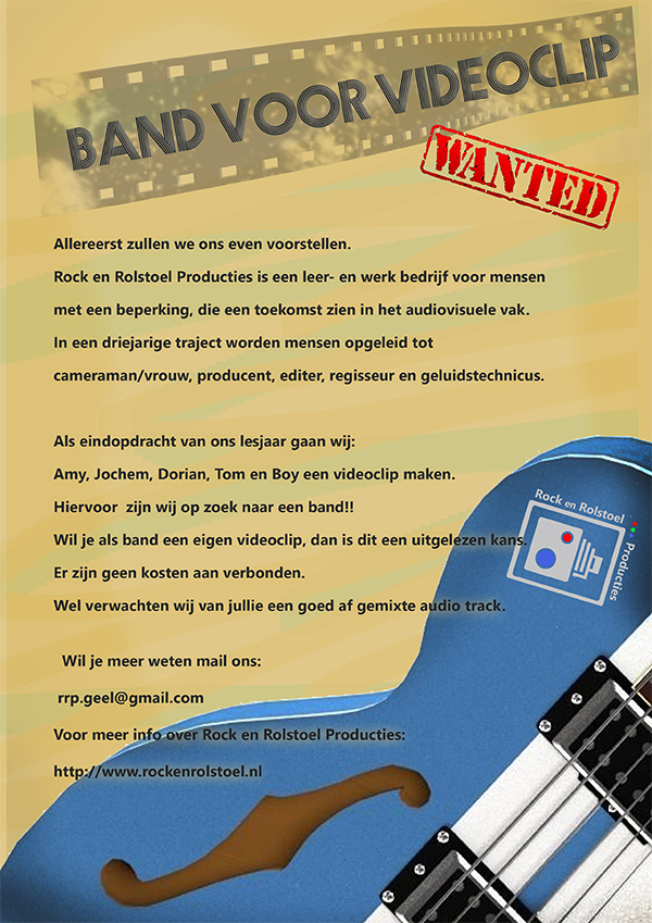 Band Wanted Rock en Rolstoel