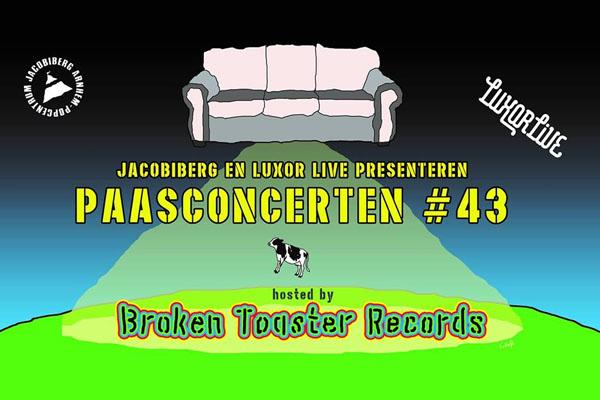 Paasconcerten 2018 Luxor Live Popcentrum Jacobiberg