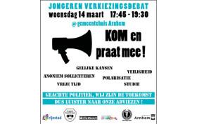 Verkiezingsdebat jongeren Arnhem