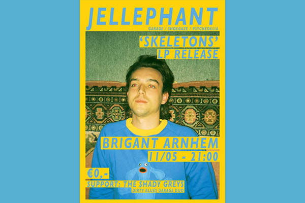 Jellephant LP release Brigant