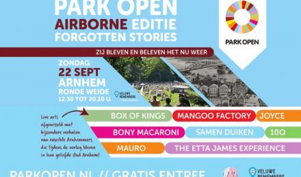 Park Open Forgotten Stories of Arnhem 22 september