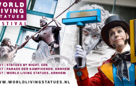 World Living Statues 4-6 oktober