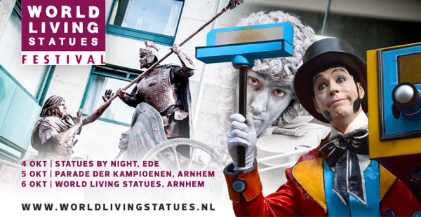 World Living Statues 4-6 oktober