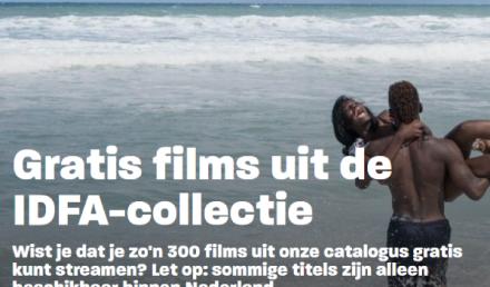 Gratis films documentaires IDFA